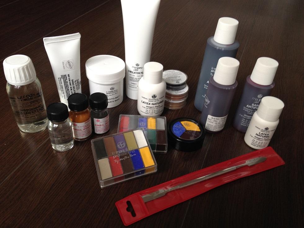 Voila tout ce que je peux utiliser en maquillage dans mes tutos et que je  trouve chez eux.
